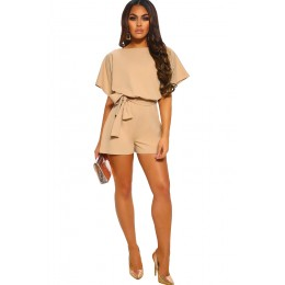 APRICOT OVER THE TOP PLAYSUIT
