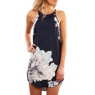 Blooming Print Dress