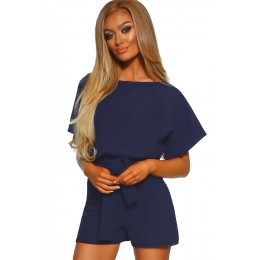 BLUE OVER THE TOP PLAYSUIT
