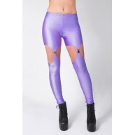 SUSPENDER LEGGINGS LILAC